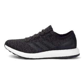 adidas 阿迪达斯 Pure Boost 2017 中性跑鞋 BA8899 黑色/纯质灰 44.5