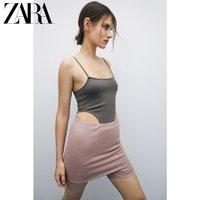 ZARA  00264340506 直领连体衣