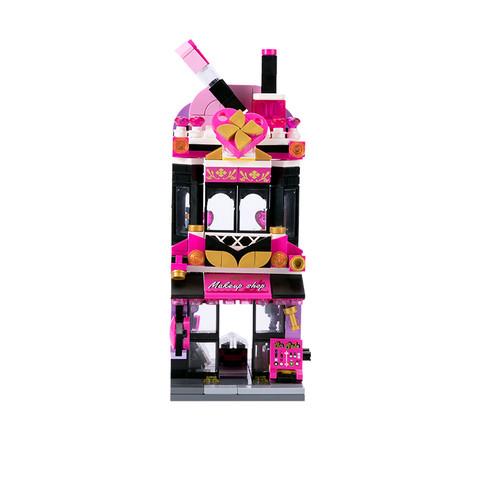 MINISO 名创优品 街景系列积木 C0103 时尚彩妆店