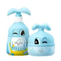 Giving 啟初 感官啟蒙系列 嬰兒洗發沐浴露 280ml+雪絨面霜 30g
