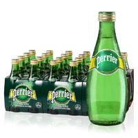 移动专享:Perrier 巴黎水 含气天然矿泉水 原味 330ml*24瓶