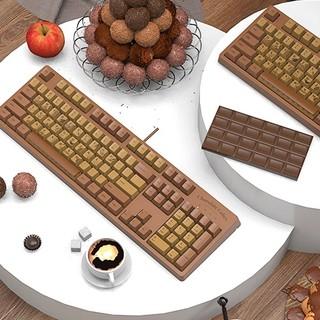 AJAZZ 黑爵 AK533 104键 有线机械键盘