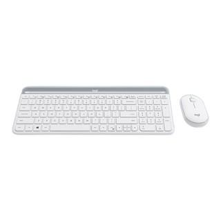logitech 罗技 MK470 无线键鼠套装 白色