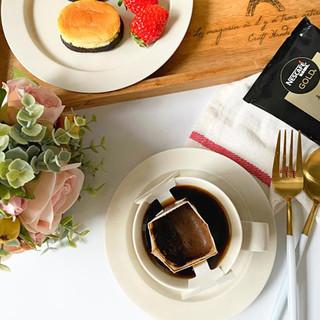 雀巢金牌挂耳咖啡精品美式黑咖啡手冲挂耳咖啡滤袋咖啡粉45g盒装 中度烘焙1盒 无赠品