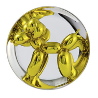 HOWstore Jeff Koons 气球狗饰盘  26.7cm*12.7cm 瓷盘 全球限量版
