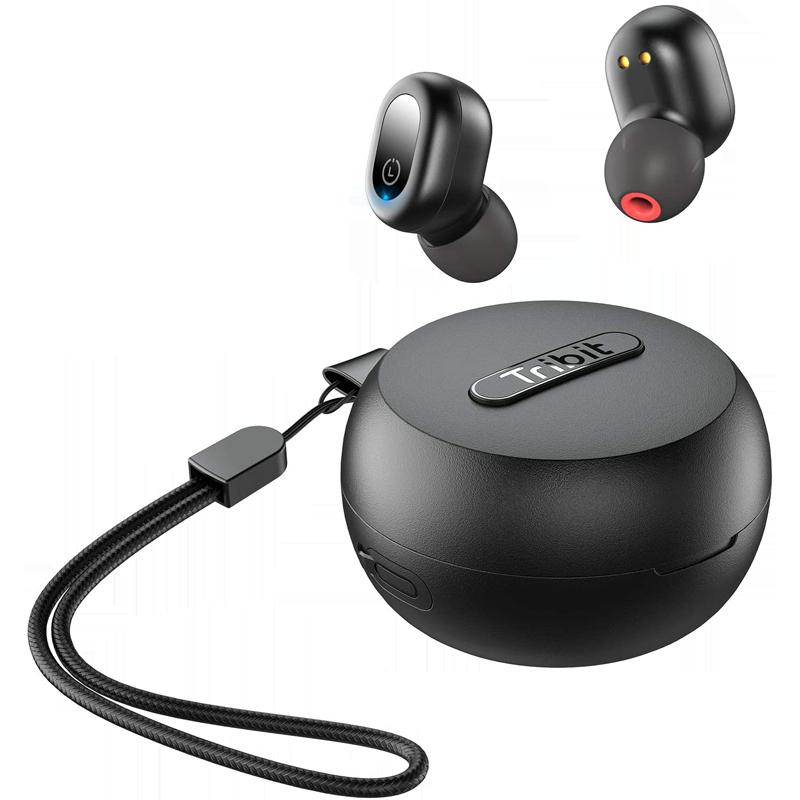 Tribit FlyBuds 1 入耳式真无线蓝牙耳机 曜石黑