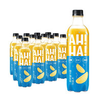 Coca-Cola 可口可乐 小宇宙 AH—HA 柚子海盐味气泡水 330ml*24罐 整箱装