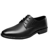 YEARCON 意尔康 男士商务正装鞋 1411ZR87669WT 黑色 39