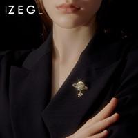 ZENGLIU星球飛機胸針女ins潮個性毛衣別針裝飾胸花百搭衣服配飾品 飛往宇宙胸針