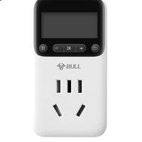 BULL 公牛 GND-1 电子定时器式插座 250V 白色