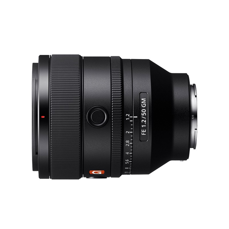 SONY 索尼 FE 50mm F1.2 GM 定焦无反镜头 索尼E卡口 50mm