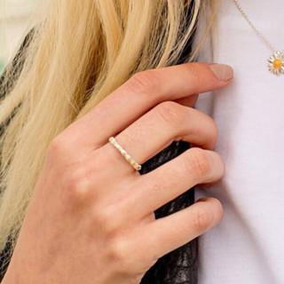 DAISY London 雏菊系列 女士925银戒指