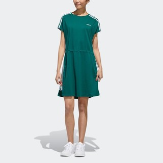 adidas 阿迪达斯 neo W BRLV DRESS 2 GK1502 女士运动连衣裙
