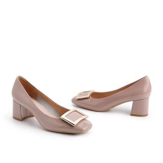 BeLLE 百丽 女士牛皮革单鞋 W1X1DAQ1