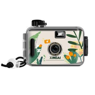 新佰(XINBAI)simple胶片相机ins傻瓜胶卷相机非一次性防水照相机摄影学生送礼物-花木从中