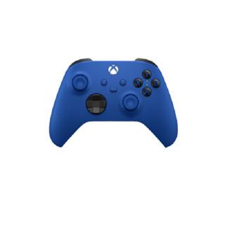 学生专享 : Microsoft 微软 Xbox Series无线控制器系列 Xbox 游戏手柄 波动蓝