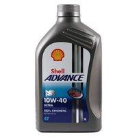 Shell 壳牌 Advance Ultra 10W-40 四冲程摩托车机油 1L