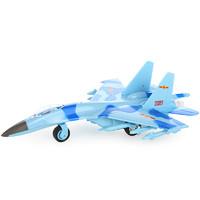 DIE-CAST DREAM BECOMES TRUE METAL&PLASTIC 歼十一战斗机 23*15cm 蓝迷彩