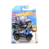Hot Wheels 风火轮 1/64 C4982 奔驰乌尼莫克 7*3cm 蓝色