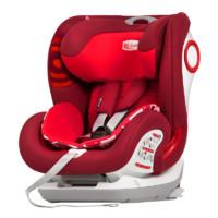 Savile 猫头鹰 卢娜 V505E 安全座椅 9个月-12岁 红狮