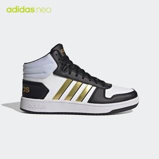 16日0点 : adidas 阿迪达斯 neo HOOPS 2.0 MID H01197 男款休闲运动鞋