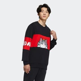 adidas 阿迪达斯 neo 吾皇万睡联名 GP5760 男款运动卫衣