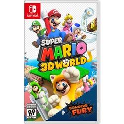 任天堂Switch游戏卡带NS马里奥3D世界 库巴之怒世界