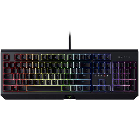 RAZER 雷蛇 黑寡妇蜘蛛 2019款 有线机械键盘 104键 绿轴
