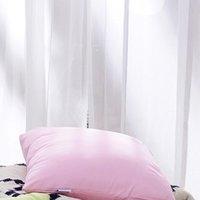 FUANNA 富安娜 圣之花 马卡龙系列 方形抱枕 粉色 45*45cm
