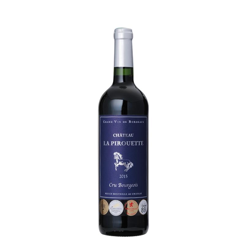 骏马城堡 法国进口红酒  梅多克知名中级庄 伊万家族200年传承骏马酒庄干红葡萄酒 单瓶