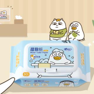 心相印 小刘鸭联名款 湿厕纸 80片*5包