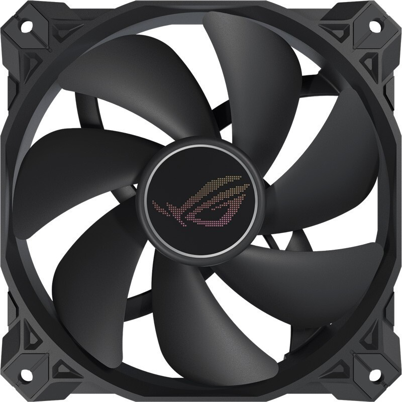 ROG 玩家国度 Strix 风神 XF120 风冷散热器 12cm 黑色 单只装