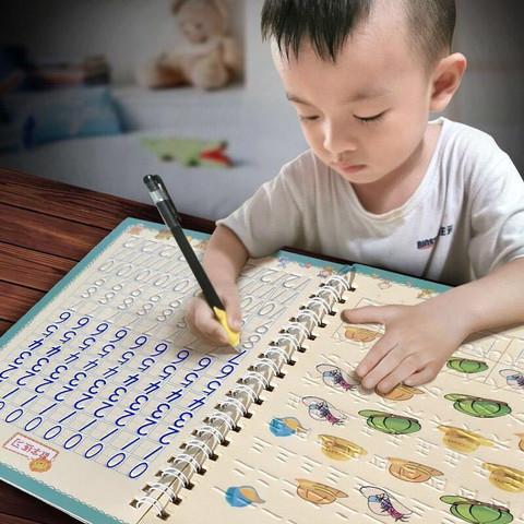儿童数字描红本幼儿园写字练字帖小学生