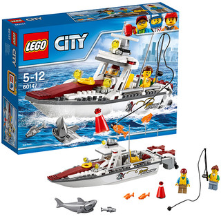 LEGO 乐高 City城市系列 60147 渔船