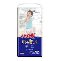 88VIP:GOO.N 大王 奢华肌系列 婴儿拉拉裤 XL 34片