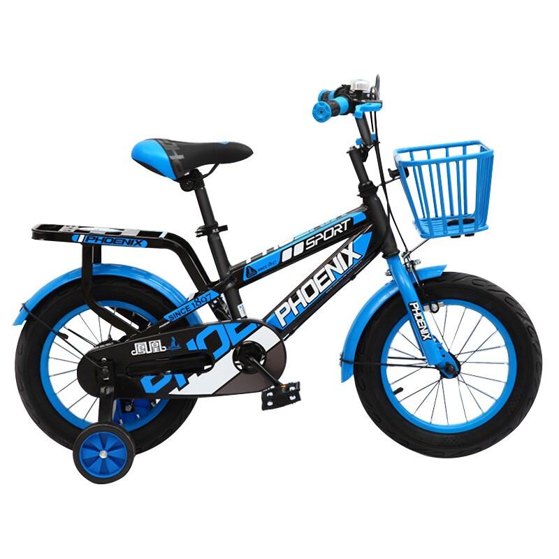 PHOENIX 凤凰 儿童自行车 18寸  蓝/黑色