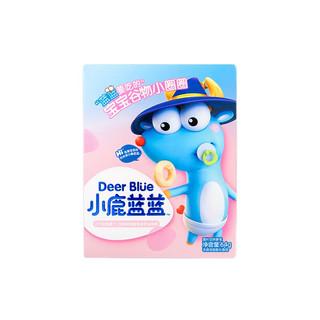 小鹿蓝蓝 宝宝谷物圈无糖64g  儿童零食无添加盐糖7种谷蔬手指谷物圈