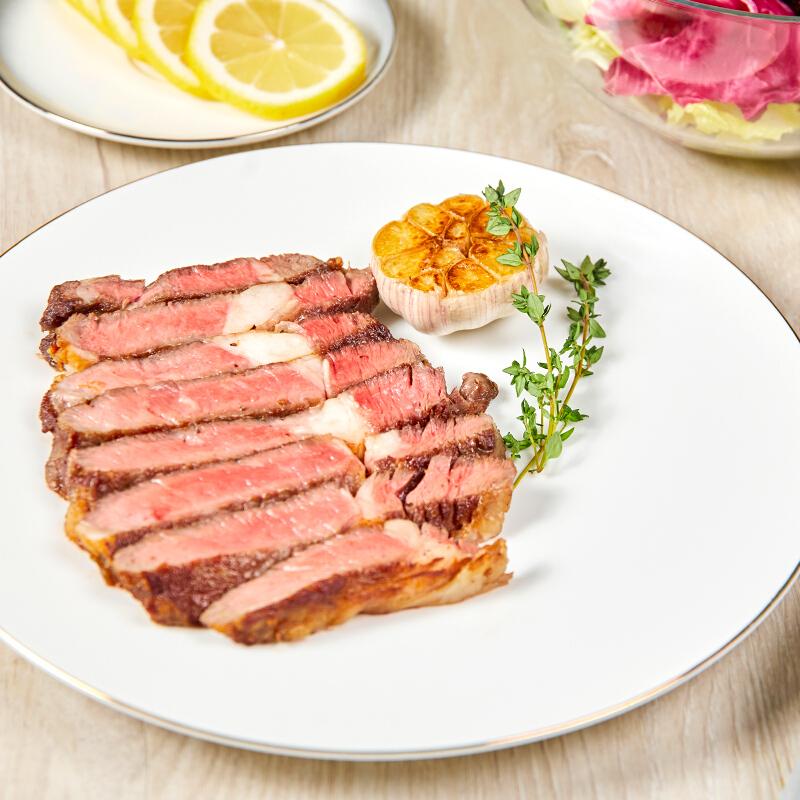 CP 正大食品 正大 整切牛排10袋1300g 牛排 生鲜西冷 新鲜牛肉 原肉牛扒 原部位套餐 整切西冷*10片