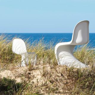 VITRA 微达 Panton Chair 潘顿椅 白色