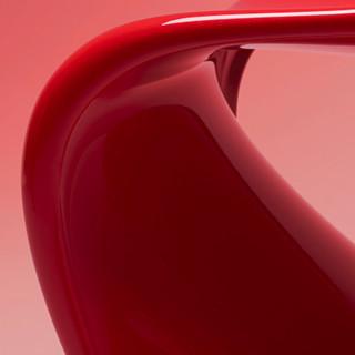 VITRA 微达 Panton Chair 潘顿椅 经典红