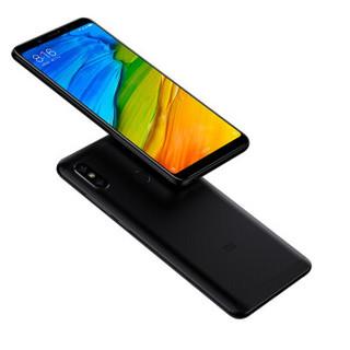 小米(MI) 红米note5 移动联通电信全网通4G 双卡双待 智能手机 黑色 全网通 4G+64G
