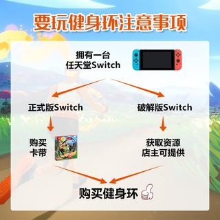 aolion任天堂Switch国产健身环大冒险 健身环全套配件 健身环+腿部绑带 中性盒装健身环-不含游戏卡