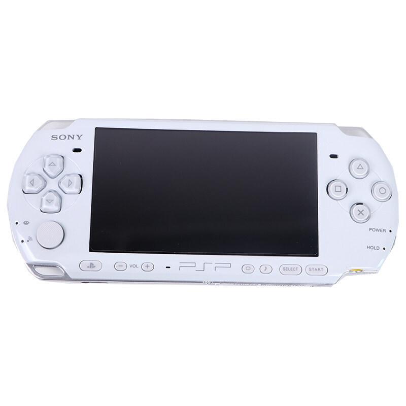 索尼psp3000游戏机psp掌机GBA怀旧街机迷你PS掌上游戏机sony400中古 珍珠白 套餐三  港版