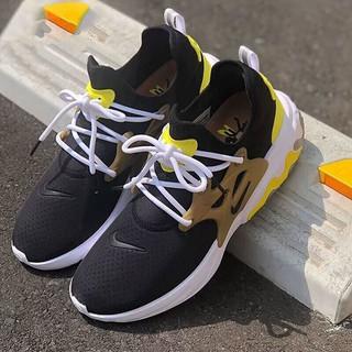 耐克男鞋 2021春新款REACT PRESTO轻质运动鞋舒适透气休闲鞋跑步鞋 AV2605-001泡棉机能黑白金 40