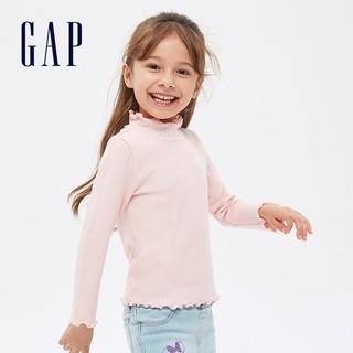 Gap 盖璞 女童针织长袖T恤