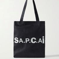 A.P.C. ×  Sacai 限定联名单宁托特包