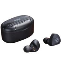 TRN T300 入耳式真无线圈铁蓝牙耳机 黑色
