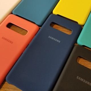 SAMSUNG 三星 Galaxy S10 硅胶手机壳 橘红