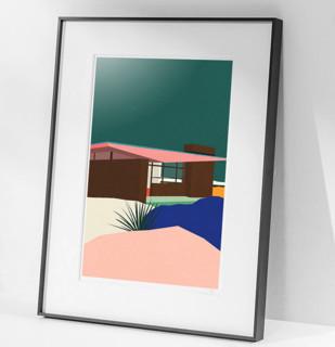 【pica photo】Rosi Feist 作品《伊德里斯之家》33*28 收藏级艺术微喷