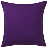 IKEA 宜家 GURLI 格尔利 垫套 深紫色